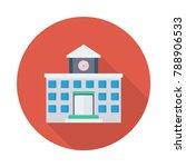 school college building  | Shutterstock .eps vector #788906533