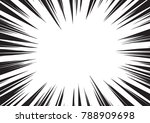 background of radial lines for... | Shutterstock .eps vector #788909698