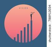 minimalist stile. vector... | Shutterstock .eps vector #788913034