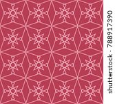 red and pale pink geometric... | Shutterstock .eps vector #788917390