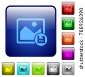 save image icons in rounded...   Shutterstock .eps vector #788926390