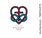 true infinite christian love... | Shutterstock .eps vector #788926570