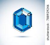 technology corporate logotype.... | Shutterstock .eps vector #788929246