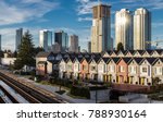 new townhomes and highrise... | Shutterstock . vector #788930164