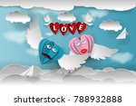 love invitation card valentine...   Shutterstock .eps vector #788932888