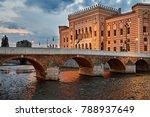 sarajevo city hall | Shutterstock . vector #788937649
