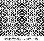 abstract pattern in arabian... | Shutterstock .eps vector #788938453