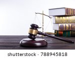 justic lawer scale symbol for...   Shutterstock . vector #788945818