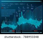 data analysis  visualization... | Shutterstock .eps vector #788953348
