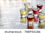 Selection Of Alcoholic Drinks....