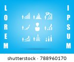 business infographic icons  ... | Shutterstock .eps vector #788960170