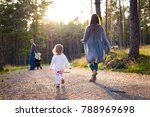 happy young family taking a... | Shutterstock . vector #788969698