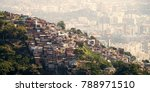 favelas of rio de janeiro brazil | Shutterstock . vector #788971510