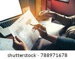 team business mans job .... | Shutterstock . vector #788971678