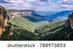 blue mountains national park...   Shutterstock . vector #788973853