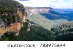 blue mountains national park... | Shutterstock . vector #788975644
