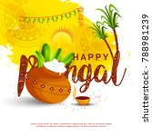 illustration of south indian... | Shutterstock .eps vector #788981239