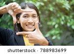 close up asian woman ... | Shutterstock . vector #788983699