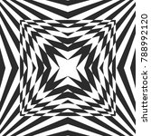 black   white geometric burst... | Shutterstock .eps vector #788992120