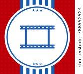 camera roll  photographic film  ...   Shutterstock .eps vector #788992924