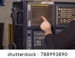 control panel of the laser... | Shutterstock . vector #788993890
