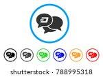 dash webinar rounded icon.... | Shutterstock .eps vector #788995318