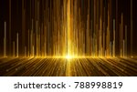 gold awards background. | Shutterstock . vector #788998819