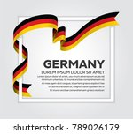 germany flag background | Shutterstock .eps vector #789026179
