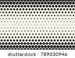 abstract horizontal monochrome... | Shutterstock .eps vector #789030946