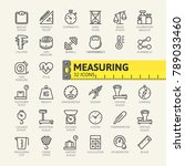 measure  precision measurement  ... | Shutterstock .eps vector #789033460
