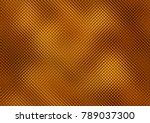 golden mosaic background ...   Shutterstock . vector #789037300