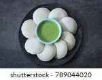 idli   idly food south indian... | Shutterstock . vector #789044020