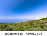 view of calheta from the... | Shutterstock . vector #789062908