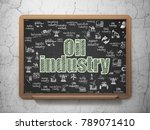 manufacuring concept  chalk... | Shutterstock . vector #789071410