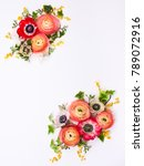 festive flower composition made ...