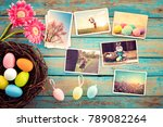 photo album in remembrance and... | Shutterstock . vector #789082264