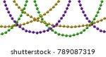 Mardi Gras Decoration With...