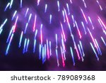 abstract sparkling magenta red  ... | Shutterstock . vector #789089368