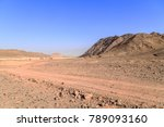 view of a road and rocky... | Shutterstock . vector #789093160