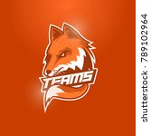 fox head mascot logo | Shutterstock .eps vector #789102964