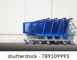Shopping Carts Outside The...
