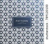 abstract star shape pattern... | Shutterstock .eps vector #789120100