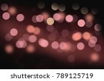 abstract background dark... | Shutterstock . vector #789125719