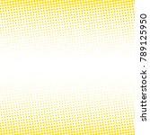 modern textured halftone of... | Shutterstock .eps vector #789125950