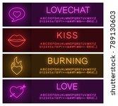 Love Neon Light Banner...