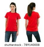 photo of a beautiful brunette... | Shutterstock . vector #789140008