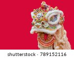 lion dance costume used during... | Shutterstock . vector #789152116