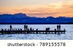 starnber lake - bavaria - european alps - stock photo
