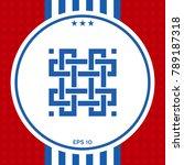 traditional geometric oriental... | Shutterstock .eps vector #789187318