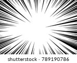 speed line fast motion... | Shutterstock .eps vector #789190786